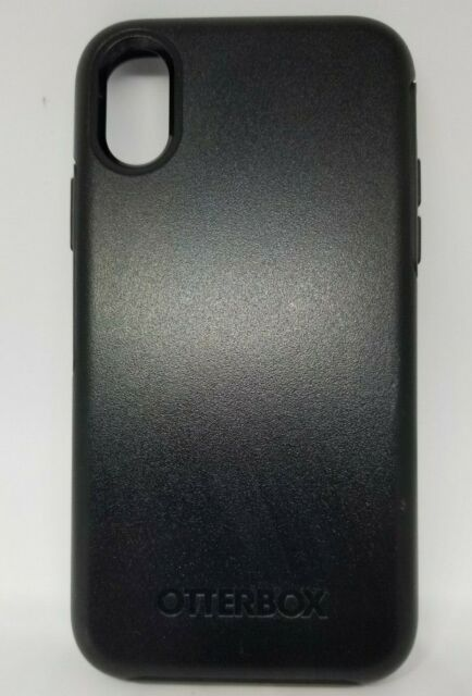 OtterBox Symmetry Series Case Sleek Cover for Apple iPhone XS iPhone X Black