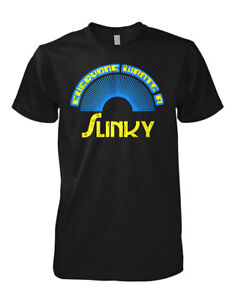 Slinky Inspired Retro 70/'s 80/'s Toy Mens T-shirt NEW with Tags