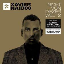 XAVIER NAIDOO - NICHT VON DIESER WELT 2-ALLEIN MIT FLÜGEL LIVE CD NEU & OVP