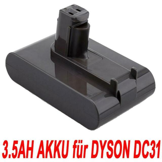 22.2V 3.5Ah Li-ion Vacuum AKKU für Dyson Animal DC31 DC34 DC35 DC44 Type A