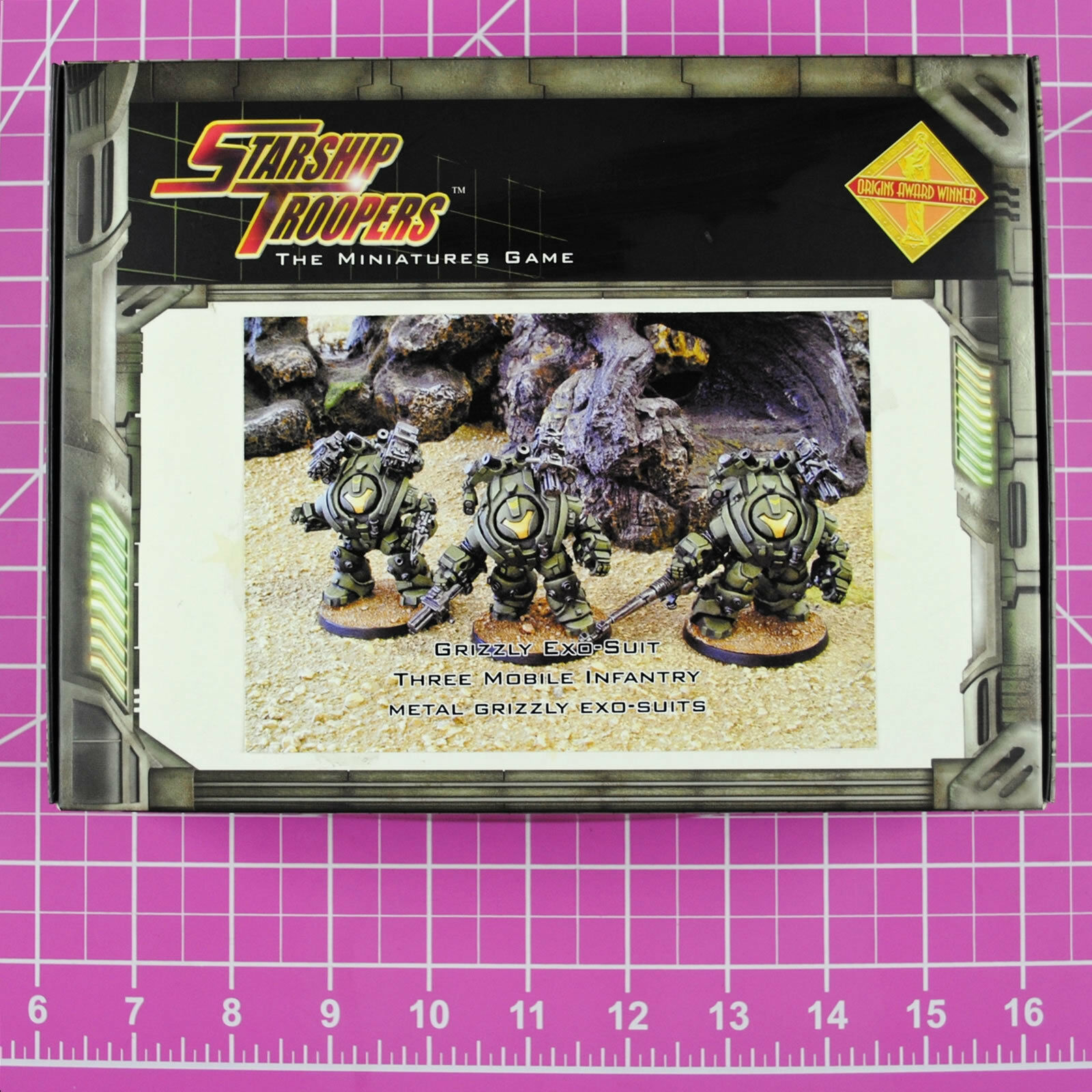 Starship troopers grizzly exo - anzug - truppe, die mobile infanterie - mungo selten & ich
