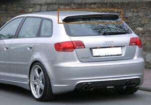 Audi A3 8p 5d 5 Doors Sportback Rear Roof Spoiler S Line Look Ebay