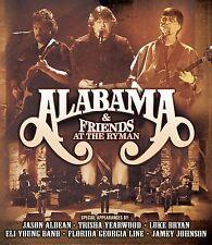 ALABAMA & FRIENDS New Sealed 2017 LIVE RYMAN CONCERT & MORE DVD