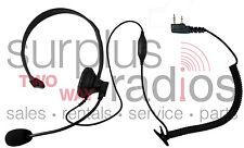 Headset For Kenwood 2 Pin Radios Tk3160 Tk372 Tk272 Tk2160 Tk3173 Tk2173 Tk3200