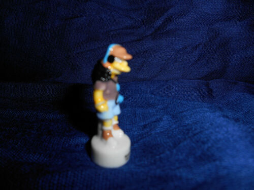 OTTO MANN Miniature Figurine FRENCH Porcelain FEVES Mini Figure SIMPSONS SCHOOL