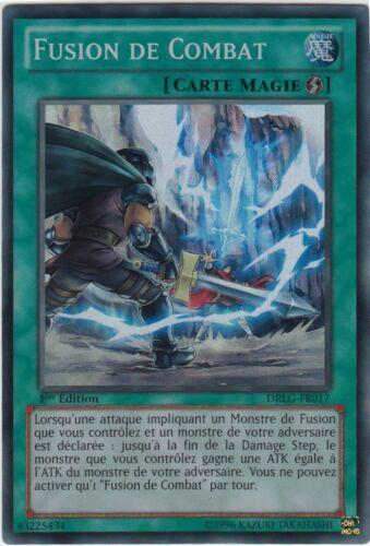 DRLG-FR017 VF//SUPER RARE ♦Yu-Gi-Oh!♦ Fusion de Combat//Battle