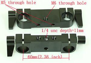 2pcs-New-RailBlock-Rod-Clamp-for-15mm-rod-DSLR-Rig-Rail-System-tripod-camera-5D2