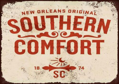 Southern comfort metal wall sign