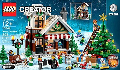 LEGO Winter Toy Shop Holiday Creator Set 10249 Nuovo In Box