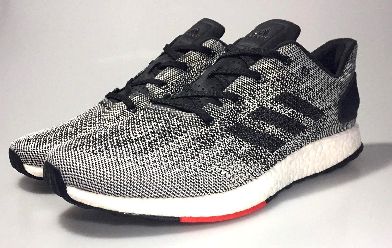 Adidas pureboost herren dpr neue herren pureboost - laufschuhe anzukurbeln s80993 grau - weißen schwarz - rot 32352a