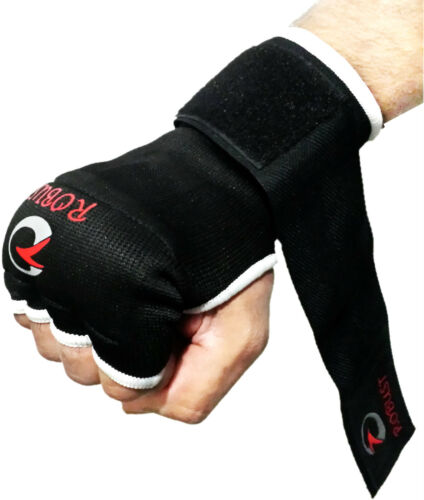 Robust Boxing inner Gloves Hand Wrap Fist Padded MMA Thai Muay S,M,L,XL 900 Sold