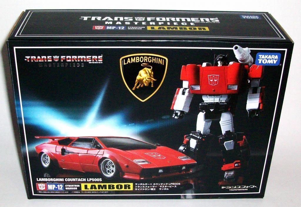 Takara Transformers Masterpiece MP-12 Lambor Sideswipe Lamborghini