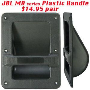 plastic bar handles for jbl mr series speaker cabinets 2 pcs ebay. Black Bedroom Furniture Sets. Home Design Ideas