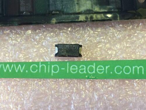 muy rápido Blow Electric Fuse 5x SCHURTER 3404.0021.22 125VDC SMD 125VAC 10 A