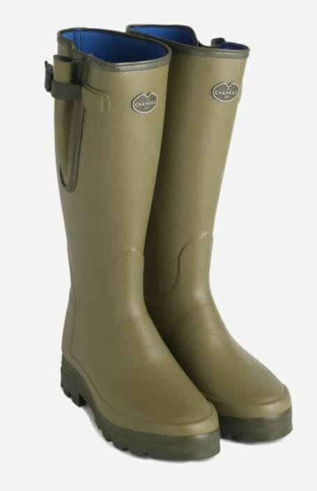 Le Chameau Vierzonord XL Neoprene Insulated Wellington Boots (Hunting)