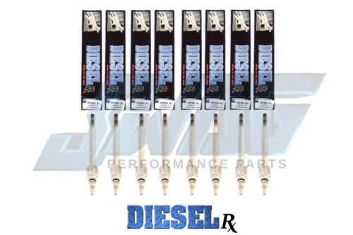 03-10 6.0 Powerstroke Diesel RX Glow Plug Set WIth Removal Tool E /& F Series