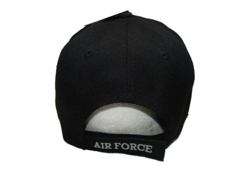 2 of 7 U.S. Air Force SMSGT Retired Black USAF Embroidered Ball Cap Hat  CAP540C (TOPW) d729ba770ddd