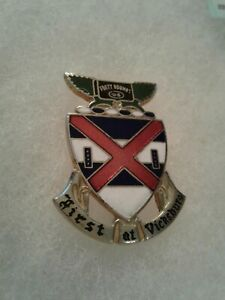Authentic-US-Army-13th-Infantry-Regiment-Unit-DI-DUI-Insignia-1V