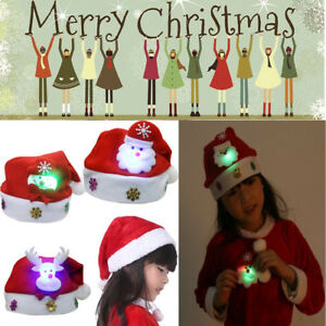 DO-U-WANNA-HAVE-A-SPESCIAL-Christmas-LED-Christmas-Hat-Santa-Claus-Gifts-Cap