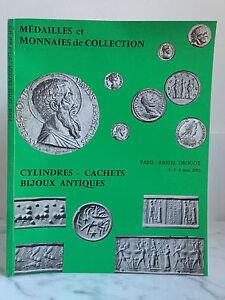 Catalogue-de-vente-Medailles-et-monnaies-de-collection-Cylindres-mai-1973