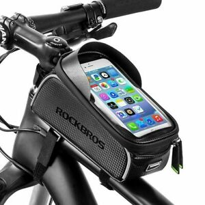 RockBros-Bicycle-Front-Tube-Frame-Bag-6-0-Inch-Touch-Screen-Waterproof-Phone-Bag