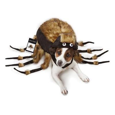 Dog Halloween Costume Fuzzy Spider Tarantula Pet Costumes spiders XS - L