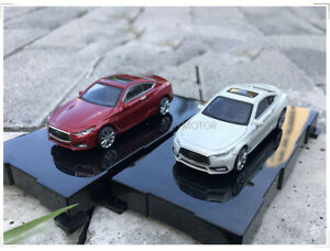1-64-Nissan-Infiniti-Q60-2017-automovil-de-Fundicion-Modelo-Juguetes-Ninos-Ninas-Regalos