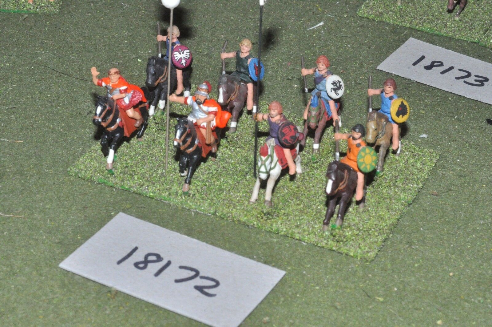 25mm classical   greek - ancient cavalry 8 cavalry - cav (18172)