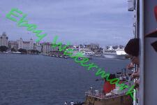 El Morro Tugboat San Juan Porto Rico Cruise Ships 1977 Original Kodak 35mm Slide