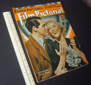 1937-Film-Pictorial-Movie-Magazine-Amalgamated-Press-London-Cary-Grant-etc