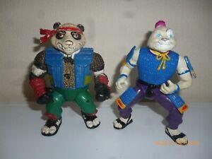 Lot-tortue-ninja-usagi-yojimbo-panda-khan-teenage-mutant-turtles-tmnt-playmates
