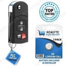 For 2010 2011 2012 2013 Mazda 3 Keyless Car Flip Remote Key Fob Transmitter