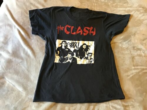 The Clash Black T shirt  with asian symbol