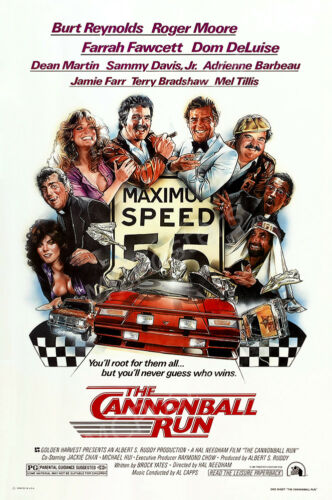 Posters USA The Cannonball Run Movie Poster Glossy Finish MCP160