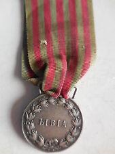 Medaglia per la guerra di Libia in argento