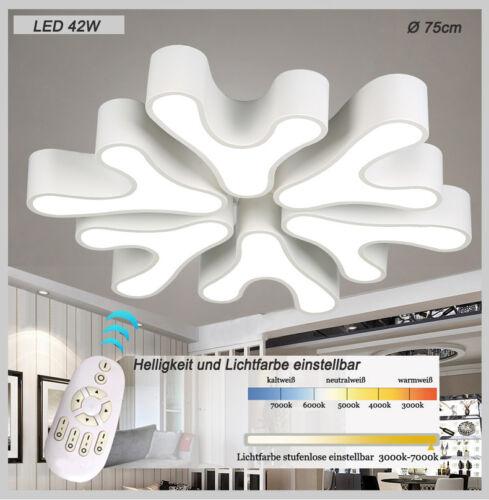 LED Deckenleuchte 8033 mit Fernbedienung  Lichtfarbe// Helligkeit einstellbar A+