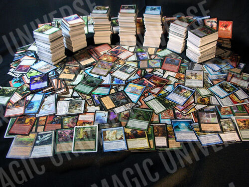 3000 MAGIC THE GATHERING CARDS MTG COLLECTION 100 RARES