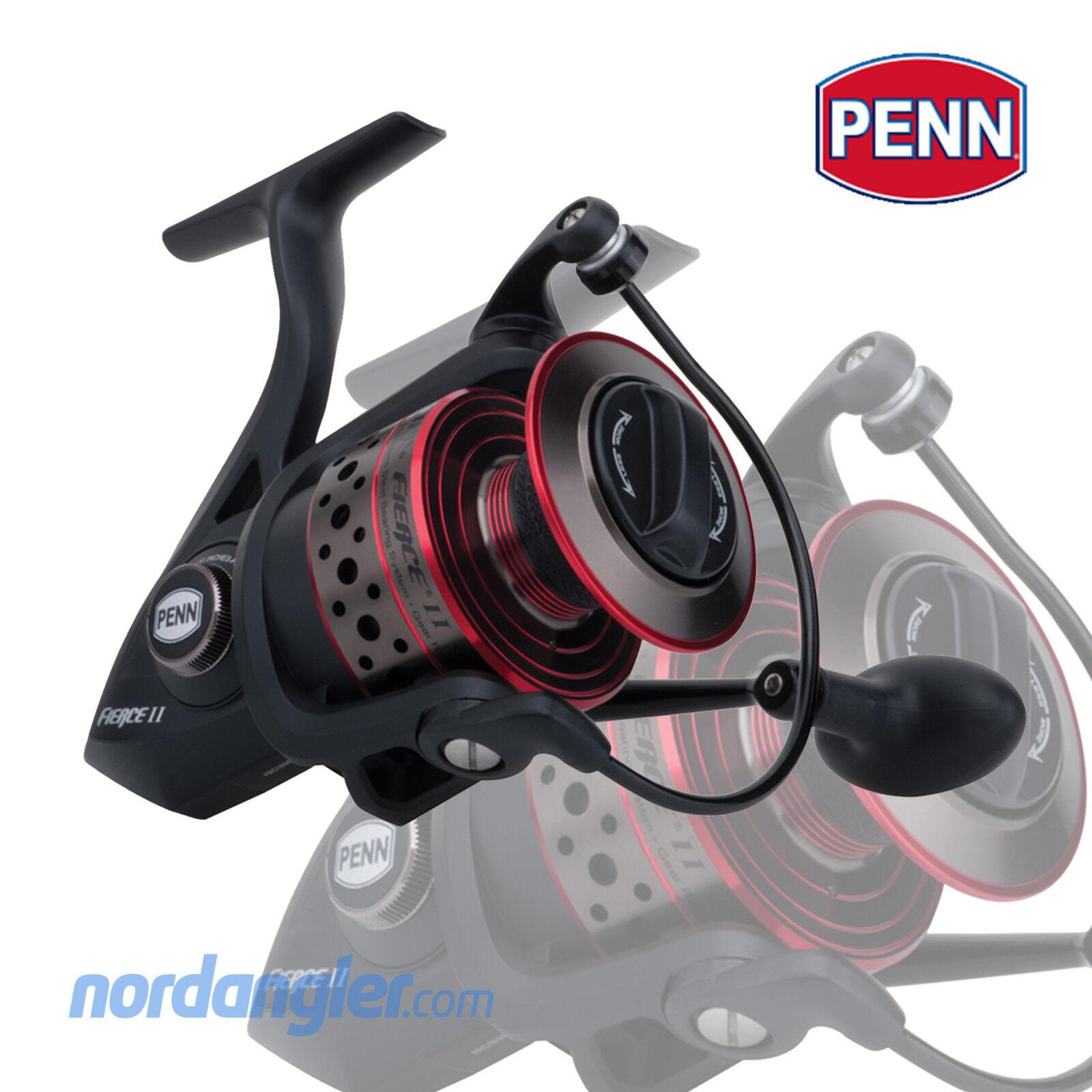 Penn Fierce 2 II - alle Größen - Spinnrolle Vollmetallgehäuse - neues Modell