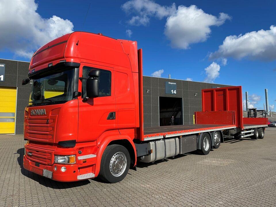 Scania R410 6x2-4 + 2 ax. Trailer, årg. 2016