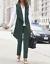 Ashro Formal Dress Green Belinda 2 Piece Pant Suit Set Size 14 or 20W 2X PLUS
