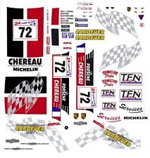 #72 Larbre Competion Porsche GT2 1998 1//25th 1//24th Scale WATERSLIDE DECALS