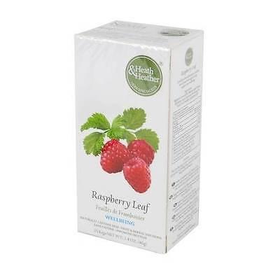 Heath And Heather Raspberry Leaf Herbal Tea 20 Bags