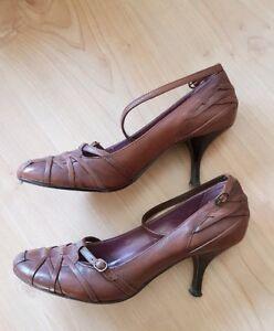 Schuhe Braun Gr40 Leder Zu Sandaletten Pumps High Sandalen Vagabond Heels Details Bronx eEIW9YDH2