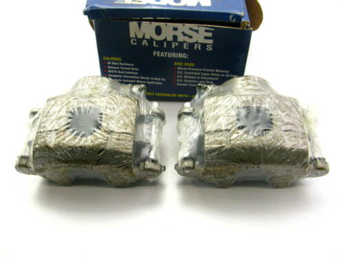 Front Left /& Right Morse P4122 Remanufactured Loaded Disc Brake Calipers