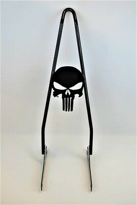 Skull Harley Davidson Dyna Sissy Bar fits most models 2006-2017