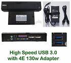 dell pr02x e port plus USB 3.0 replicator docking 0y72nh k09a + 130w adapter