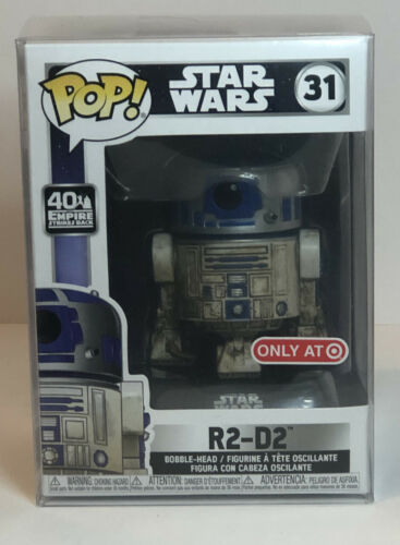 Funko Pop Star Wars Dagobah R2-D2 #31 40th Anniversary Target Exclusive IN HAND