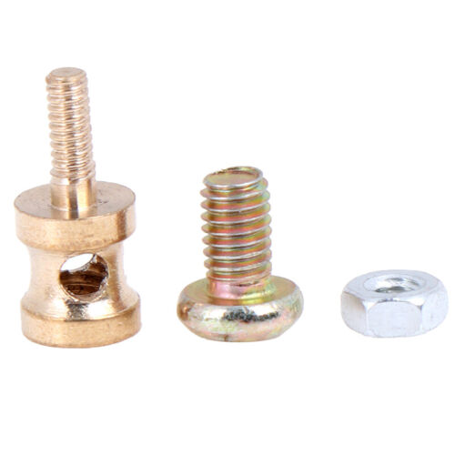 20Pcs Brass Linkage Stopper For 1.5mm Pushrod Connector For RC plane M RHC
