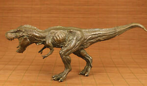 Rare-chinese-old-Big-Bronze-Hand-Carved-Dinosaur-Statue-Figure-Home-decoration