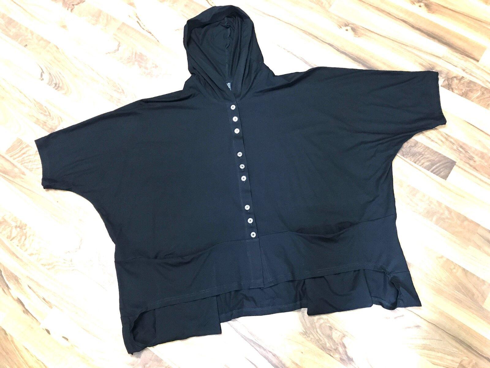 Myo-Lagenlook Big-overTallad capucha-recuadro-chaqueta hängetaschen Jersey XL, XXL,  XXXL  ahorra hasta un 50%